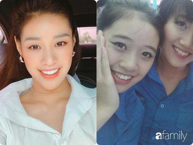 Tân Hoa hậu Khánh Vân: Xinh xắn từ bé, dậy thì thành công xuất sắc và tính ý sẽ phát hiện ra gương mặt một điểm khác biệt duy nhất - Ảnh 4.