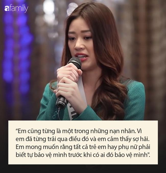 Tân Hoa hậu Hoàn vũ Việt Nam Khánh Vân sợ hãi vì từng bị bạo hành và ấu dâm, không dám ở 1 mình trong thời gian dài - Ảnh 4.