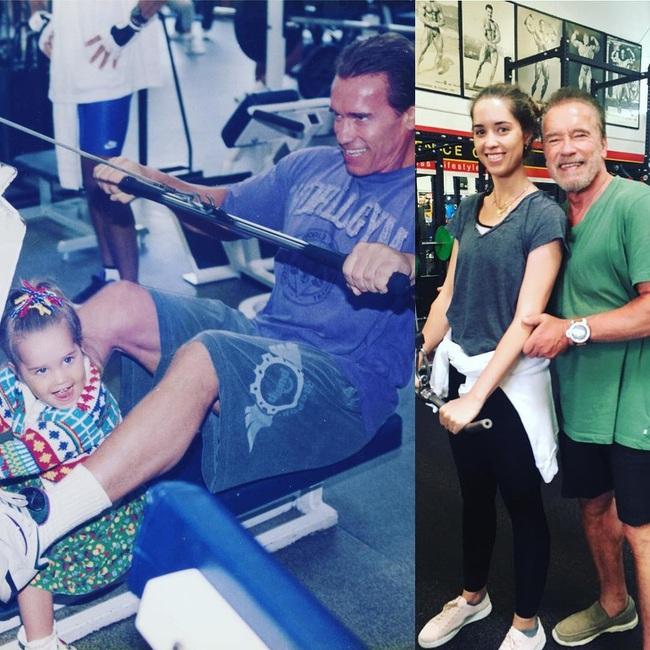 """Ông bố ngôi sao """"Kẻ hủy diệt"""" Arnold Schwarzenegger – Được mệnh danh ông bố quốc dân chẳng kém sao Hàn - Ảnh 4."""