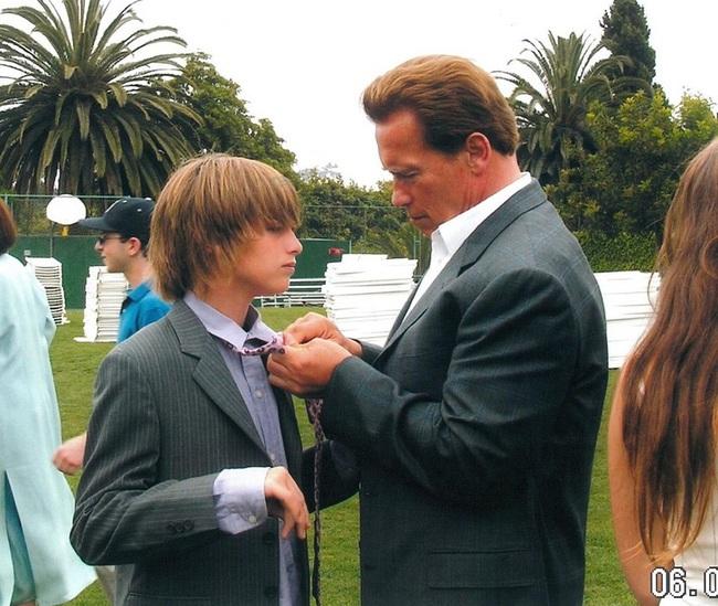 """Ông bố ngôi sao """"Kẻ hủy diệt"""" Arnold Schwarzenegger – Được mệnh danh ông bố quốc dân chẳng kém sao Hàn - Ảnh 9."""