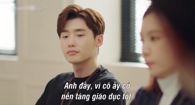 Lee Jong Suk gây choáng khi đem năng lực ngoại cảm từ I hear your voice sang Phụ lục tình yêu - Ảnh 6.