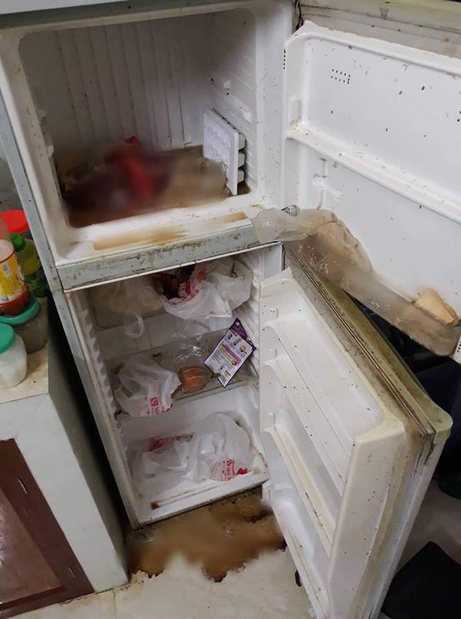 Trở lại phòng trọ sau Tết, chàng trai sốc nặng khi mở tủ lạnh ra - Ảnh 1.