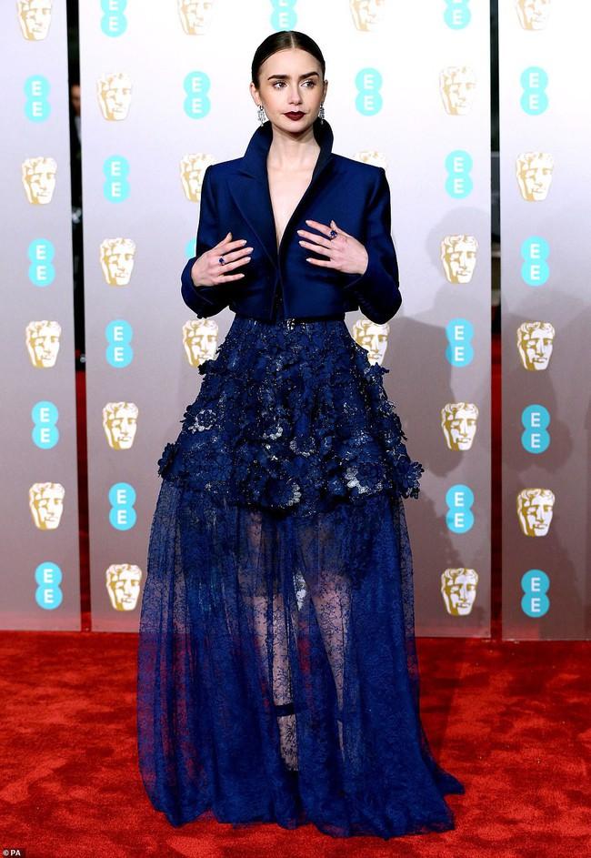 Thảm đỏ Oscar Anh Quốc: Công nương Kate và dàn sao Hollywood khoe nhan sắc tuyệt trần, thật khó chọn ai đẹp nhất! - Ảnh 4.
