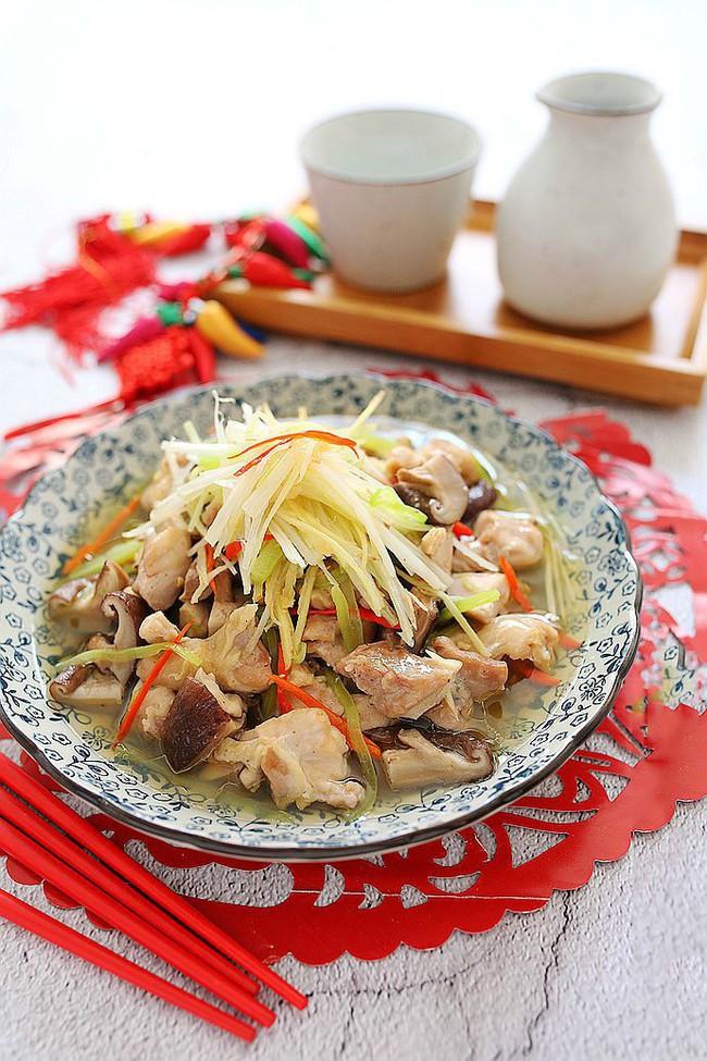 Món gà hấp nấm làm trong có 15 phút mà ngon ngỡ ngàng - Ảnh 3.