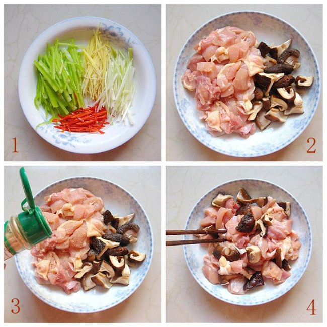 Món gà hấp nấm làm trong có 15 phút mà ngon ngỡ ngàng - Ảnh 1.