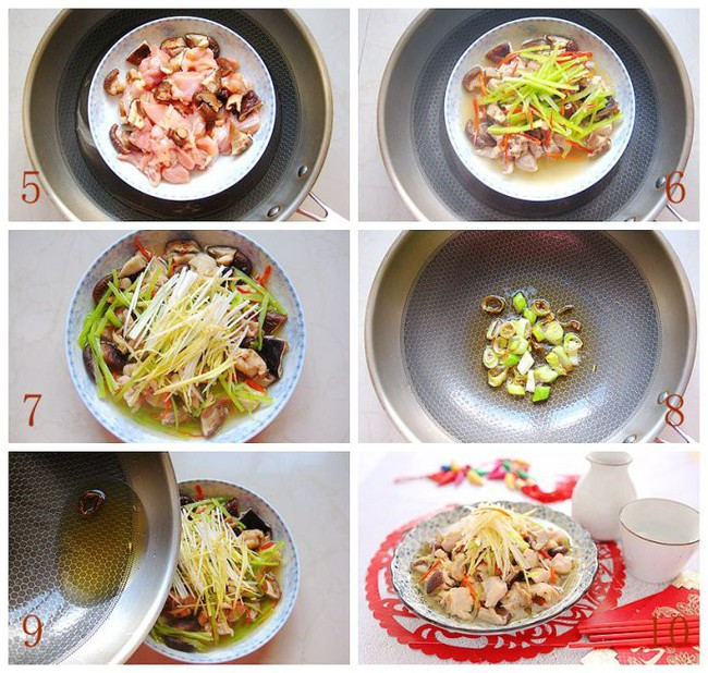 Món gà hấp nấm làm trong có 15 phút mà ngon ngỡ ngàng - Ảnh 2.