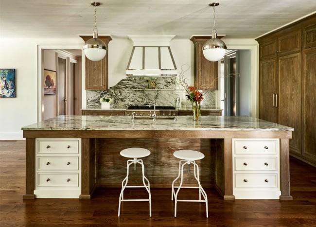 Nhà bếp trong mơ của nhiều người bởi đơn giản nhưng đẹp vượt thời gian - Ảnh 13.
