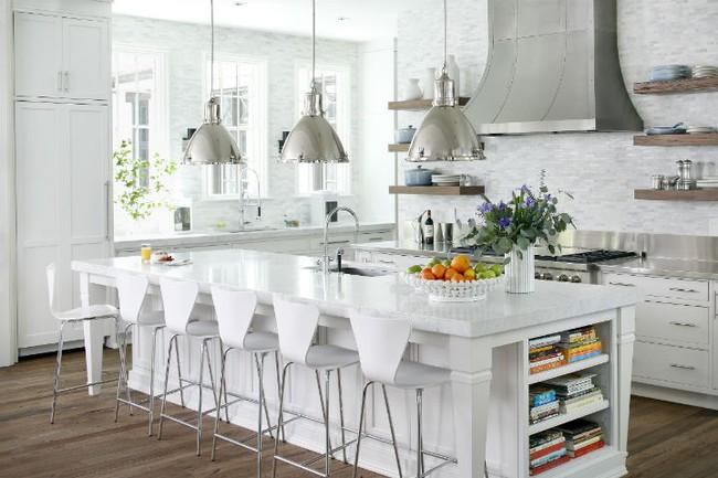 Nhà bếp trong mơ của nhiều người bởi đơn giản nhưng đẹp vượt thời gian - Ảnh 8.