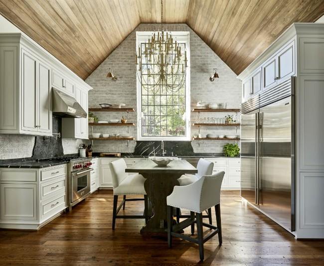 Nhà bếp trong mơ của nhiều người bởi đơn giản nhưng đẹp vượt thời gian - Ảnh 9.