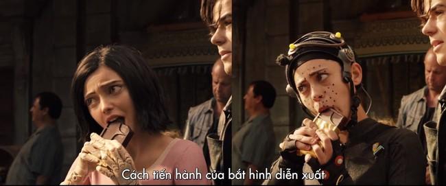 Hậu trường phim Alita: Thiên Thần Chiến Binh khiến ai cũng phải ngả mũ thán phục  - Ảnh 7.