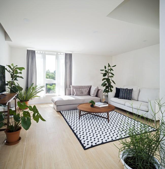 Sau 15 năm bỏ hoang, ngôi nhà 300m² được cặp vợ chồng trẻ hồi sinh cực hiện đại lại có vườn bonsai đáng mơ ước ở ban công - Ảnh 9.