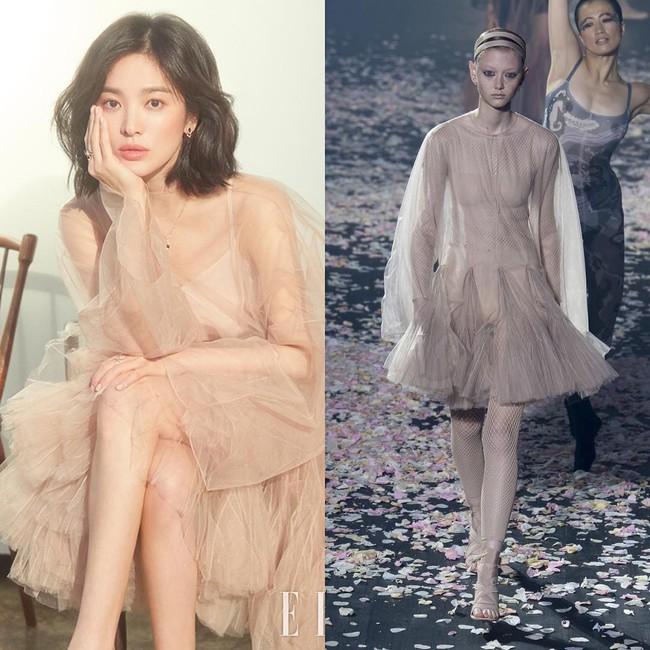 Trở lại sau tin đồn ly hôn, Song Hye Kyo chứng minh nhan sắc và thần thái giúp diện đồ đẹp hơn cả người mẫu - Ảnh 4.