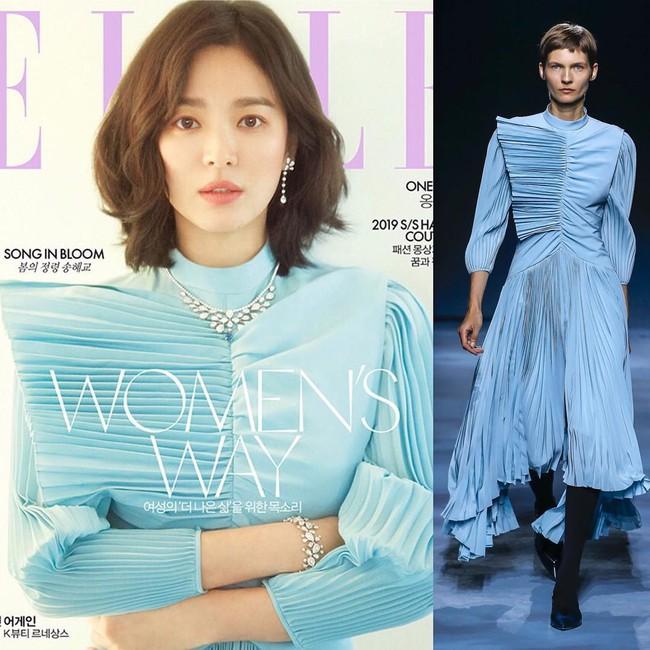 Trở lại sau tin đồn ly hôn, Song Hye Kyo chứng minh nhan sắc và thần thái giúp diện đồ đẹp hơn cả người mẫu - Ảnh 3.