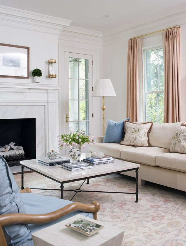 Những mẫu bàn trà cỡ lớn dành riêng cho căn phòng khách rộng rãi của gia đình - Ảnh 1.