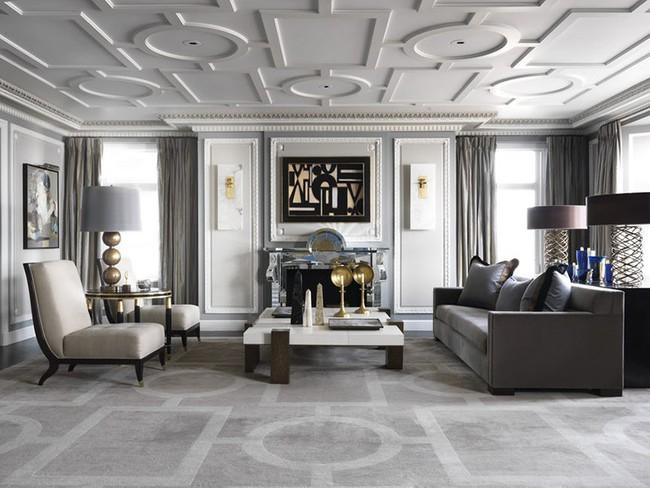 Những mẫu bàn trà cỡ lớn dành riêng cho căn phòng khách rộng rãi của gia đình - Ảnh 9.