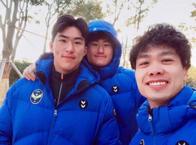 Gia nhập Incheon United chưa lâu, Công Phượng đã khiến fan phát sốt khi livestream học nói tiếng Hàn cực đáng yêu - Ảnh 1.