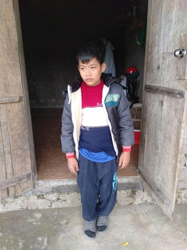 Số phận nghiệt ngã của bé trai khuyết tật, không có cha, mẹ mất vì tai nạn giao thông - Ảnh 4.