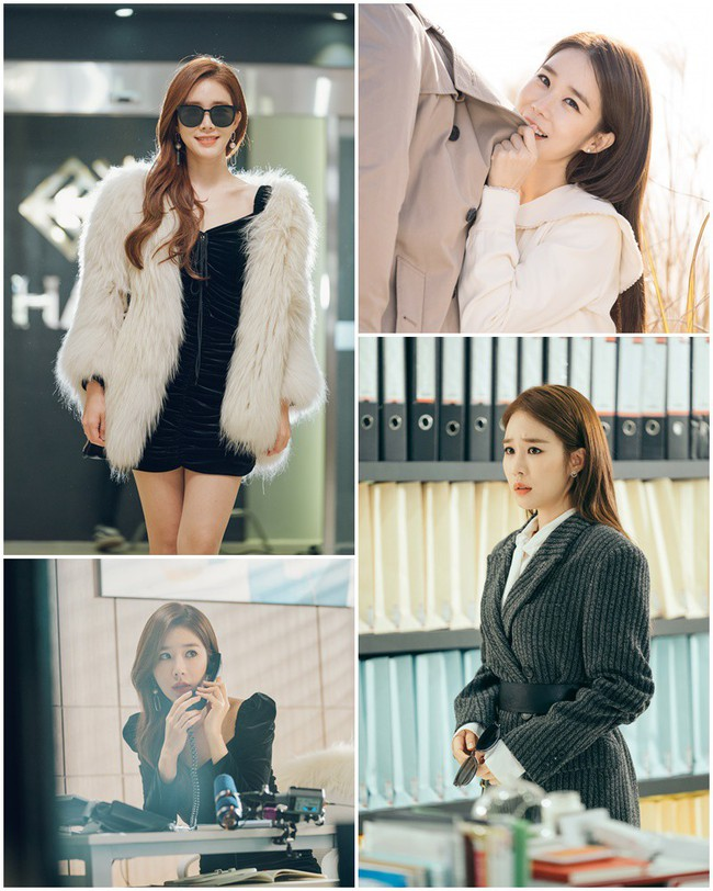 "Yoo In Na wears beautiful clothes and turns the office into a stage in ""Touch your heart"""