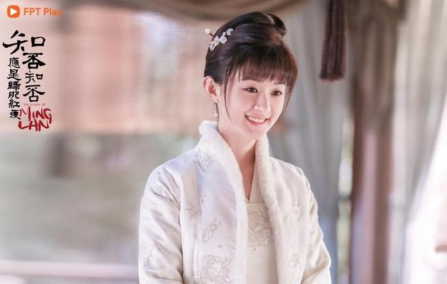 Triệu Lệ Dĩnh: Từ cô gái chỉ biết phùng mang trợn mắt cho đến nàng Minh Lan vạn người mê đắm  - Ảnh 10.