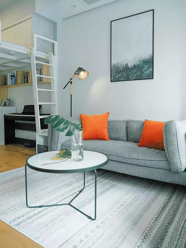 Căn hộ 48m² hẹp và dài gây ấn tượng với thiết kế mở có thể ở đến 6 người  - Ảnh 5.