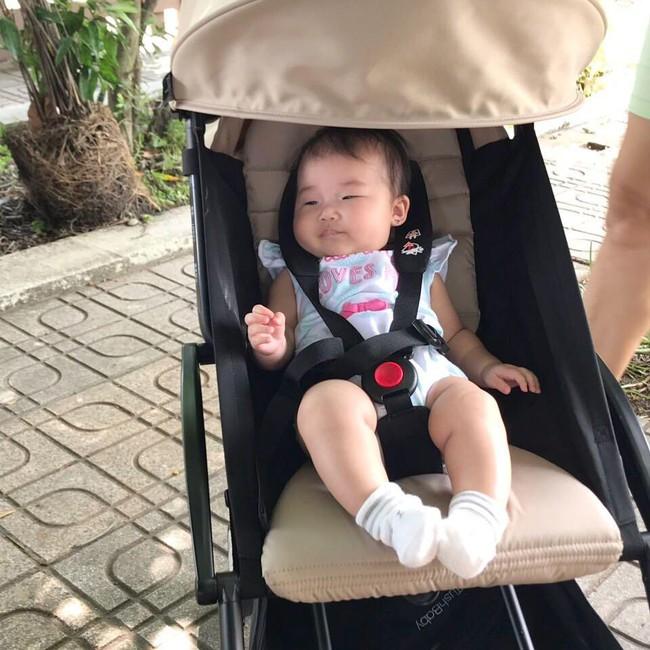 Lộ diện cháu gái của Tăng Thanh Hà: Mắt hí, má bánh bao ai thấy cũng yêu - Ảnh 8.