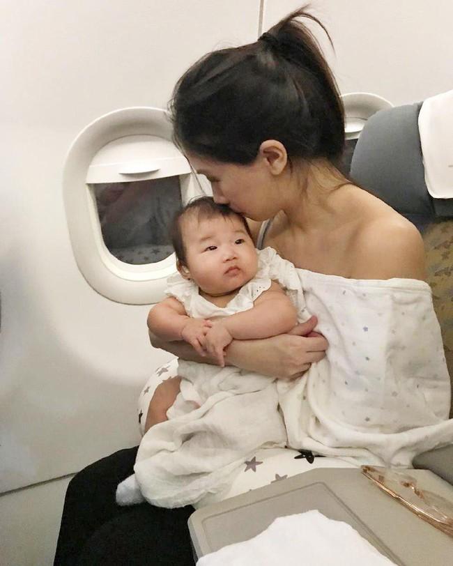Lộ diện cháu gái của Tăng Thanh Hà: Mắt hí, má bánh bao ai thấy cũng yêu - Ảnh 5.