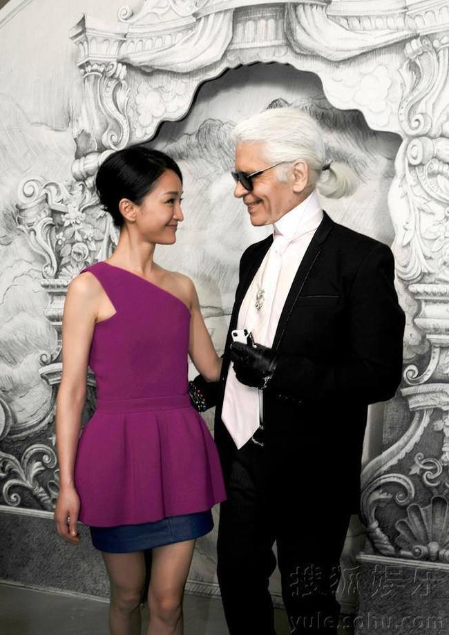 Châu Tấn: Nàng thơ phương Đông duy nhất được ông hoàng tóc bạc Karl Lagerfeld dành sự ưu ái đặc biệt trong suốt 1 thập niên - Ảnh 5.