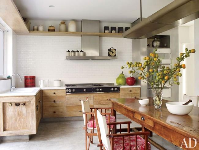 6 phòng bếp chứng minh cho bạn thấy nội thất gỗ mộc chính là đũa thần cho nơi nấu nướng - Ảnh 2.
