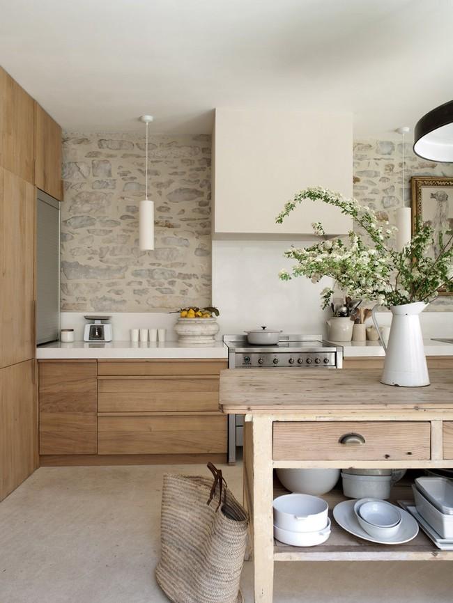 6 phòng bếp chứng minh cho bạn thấy nội thất gỗ mộc chính là đũa thần cho nơi nấu nướng - Ảnh 5.