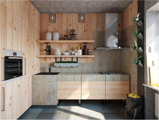 6 phòng bếp chứng minh cho bạn thấy nội thất gỗ mộc chính là đũa thần cho nơi nấu nướng - Ảnh 6.