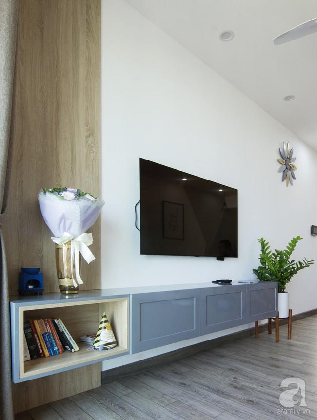 Căn hộ 95m² tạo ấn tượng đặc biệt nhờ lối thiết kế đơn giản, tinh tế ở Hà Đông, Hà Nội - Ảnh 3.