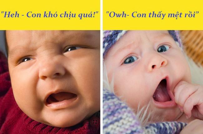 """Giải mã những dấu hiệu qua ngôn ngữ cơ thể mà bé sơ sinh đang muốn """"nói"""" với mẹ - Ảnh 3."""