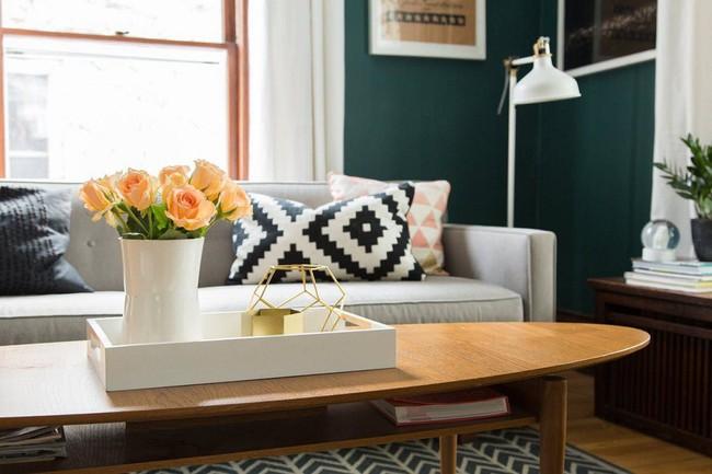 Nhiều người vô tâm đã bỏ lỡ mất cách làm đơn giản nhưng có thể thay đổi không gian phòng khách ngay tắp lự - Ảnh 3.