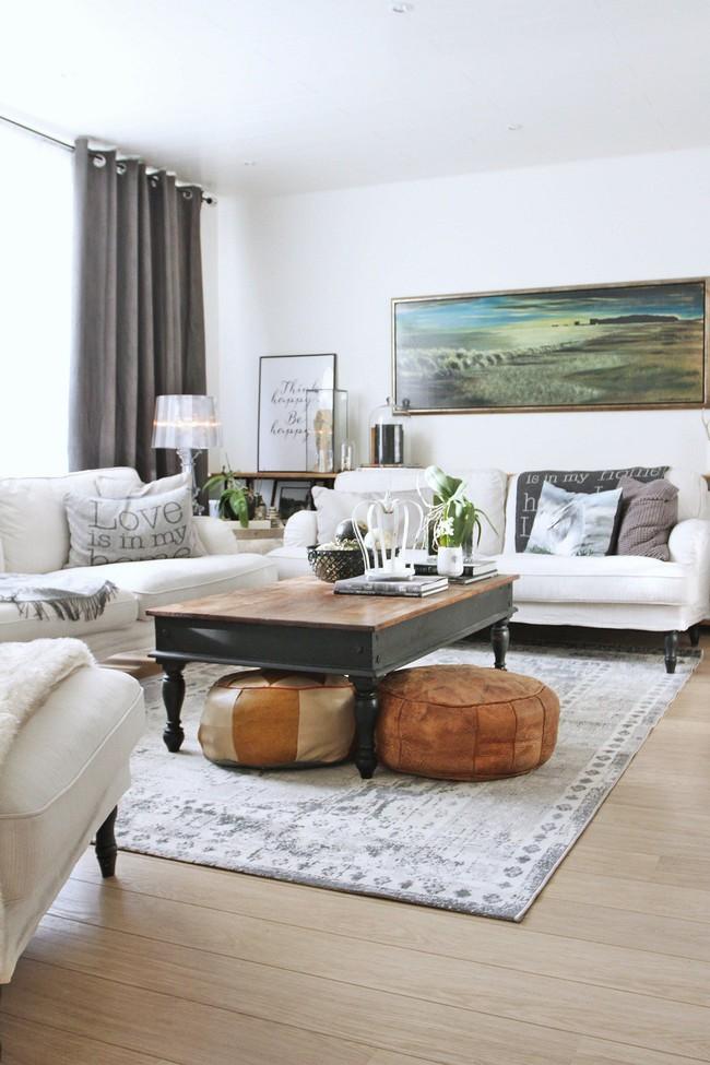 Nhiều người vô tâm đã bỏ lỡ mất cách làm đơn giản nhưng có thể thay đổi không gian phòng khách ngay tắp lự - Ảnh 4.