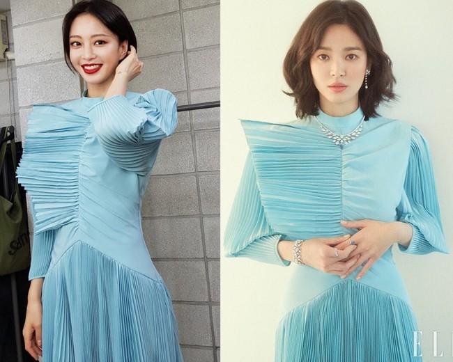 Đụng váy với Han Ye Seul bằng tuổi, tiếc thay Song Hye Kyo lại già dặn hơn chút đỉnh vì lý do này - Ảnh 4.