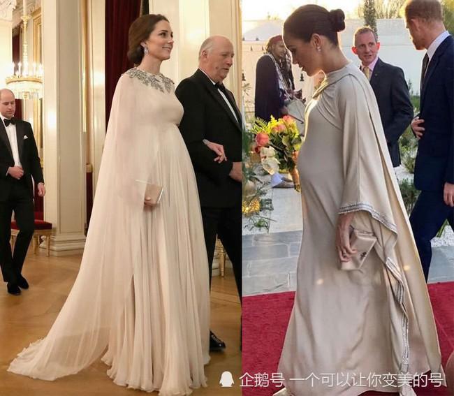 Meghan Markle bị tố bắt chước Kate Middleton nhưng lại nhận cái kết đắng với hình ảnh kém duyên - Ảnh 7.