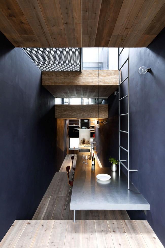 Với chiều rộng 1,8m, ngôi nhà siêu mỏng ở Nhật Bản vẫn tạo sự thoải mái và tiện nghi bất ngờ cho người sử dụng - Ảnh 8.