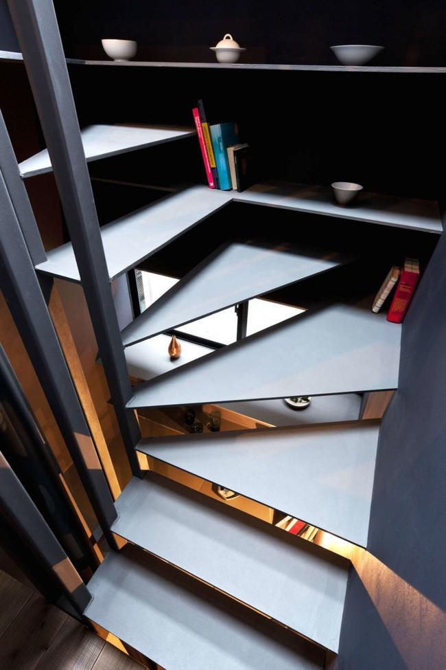 Với chiều rộng 1,8m, ngôi nhà siêu mỏng ở Nhật Bản vẫn tạo sự thoải mái và tiện nghi bất ngờ cho người sử dụng - Ảnh 11.