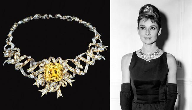 Không chặt chém hay quái dị như mọi lần, Lady Gaga gây sốt với dây chuyền kim cương nghìn tỷ mà huyền thoại Audrey Hepburn từng đeo - Ảnh 8.