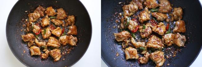 Trời lạnh ăn cơm với gà rang cay là ngon miễn chê - Ảnh 4.