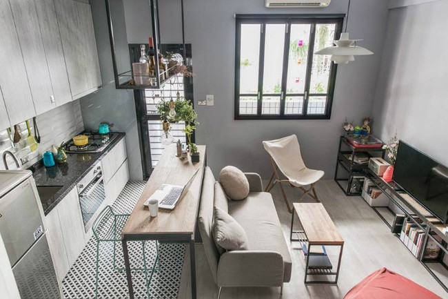Nếu bạn muốn sở hữu căn hộ nhỏ xinh xắn như các căn hộ mẫu thì đây chính là ý tưởng tuyệt vời dành cho bạn - Ảnh 1.