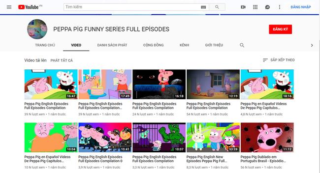Phụ huynh bức xúc vì phim hoạt hình nổi tiếng dành cho trẻ em Peppa Pig bị biến tướng trên Youtube, chứa nội dung độc hại phản cảm - Ảnh 6.