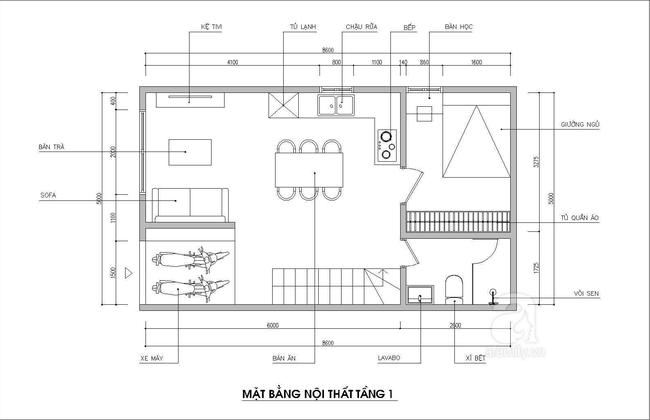 Thiết kế nhà ống: Tư vấn thiết kế nhà ống hợp lý gia đình 5 người  - Ảnh 1.
