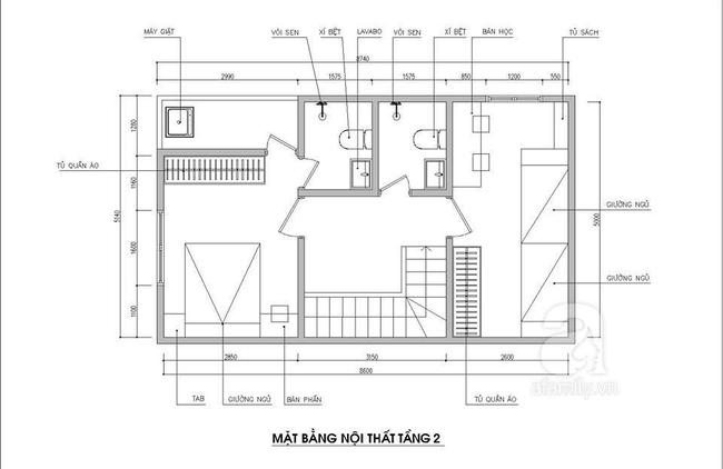 Thiết kế nhà ống: Tư vấn thiết kế nhà ống hợp lý gia đình 5 người  - Ảnh 2.