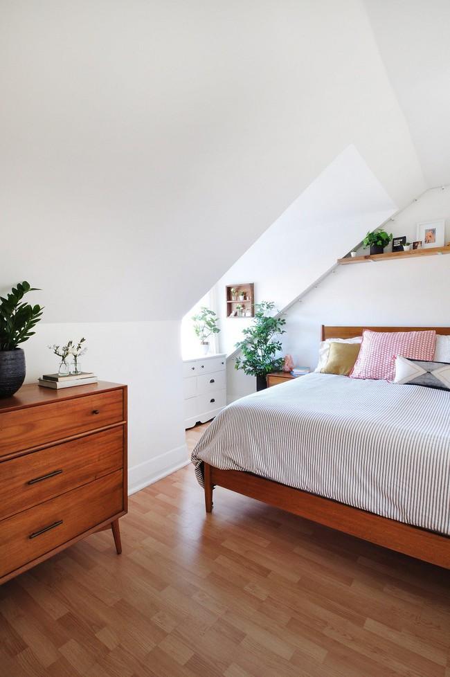 4 điều bạn cần phải làm ngay để phòng ngủ nhỏ của mình trông lớn hơn diện tích thực - Ảnh 3.