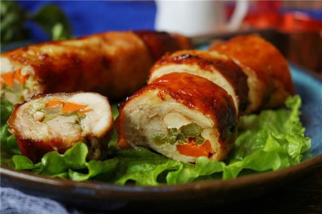 Cách làm gà nướng cuộn rau củ tuyệt ngon, hấp dẫn cho bữa cơm tối  - Ảnh 7.