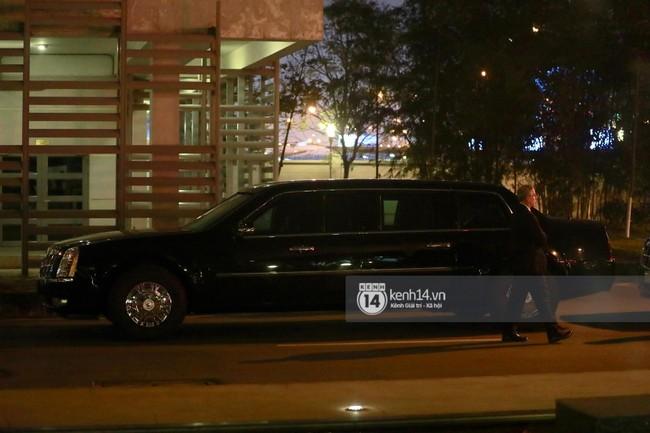 Tổng thống Mỹ Donald Trump xuống chuyên cơ, đang trên siêu xe quái thú vào trung tâm Hà Nội  - Ảnh 34.
