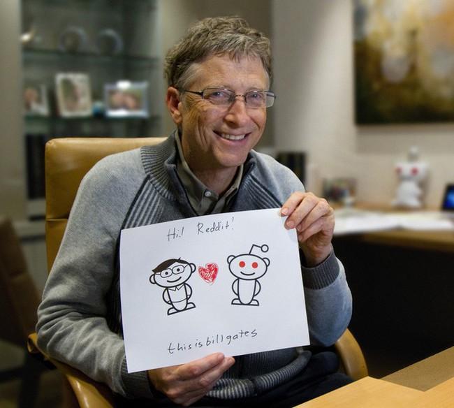 Bác tỷ phú thiện lành Bill Gates vừa có màn trả lời xuất sắc trên Reddit: Giờ tôi đang hạnh phúc, 20 năm nữa nhớ hỏi lại câu này nhé - Ảnh 1.