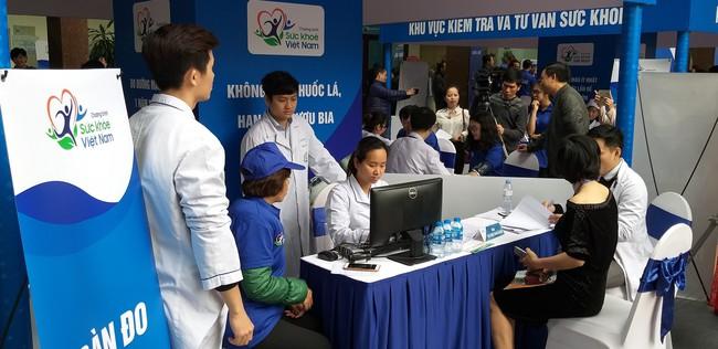 HLV Park Hang Seo chia sẻ kinh nghiệm nâng cao sức khỏe của bản thân trong ngày phát động Chương trình Sức khỏe Việt Nam - Ảnh 6.