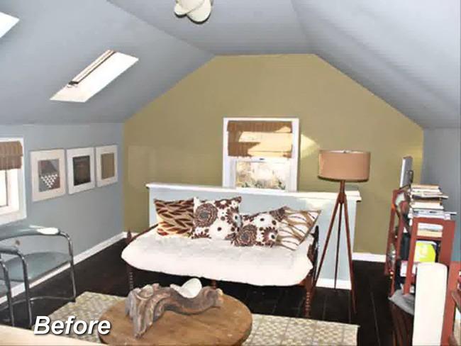 Những ý tưởng hoàn hảo để cải tạo phòng ngủ tầng áp mái - Ảnh 1.